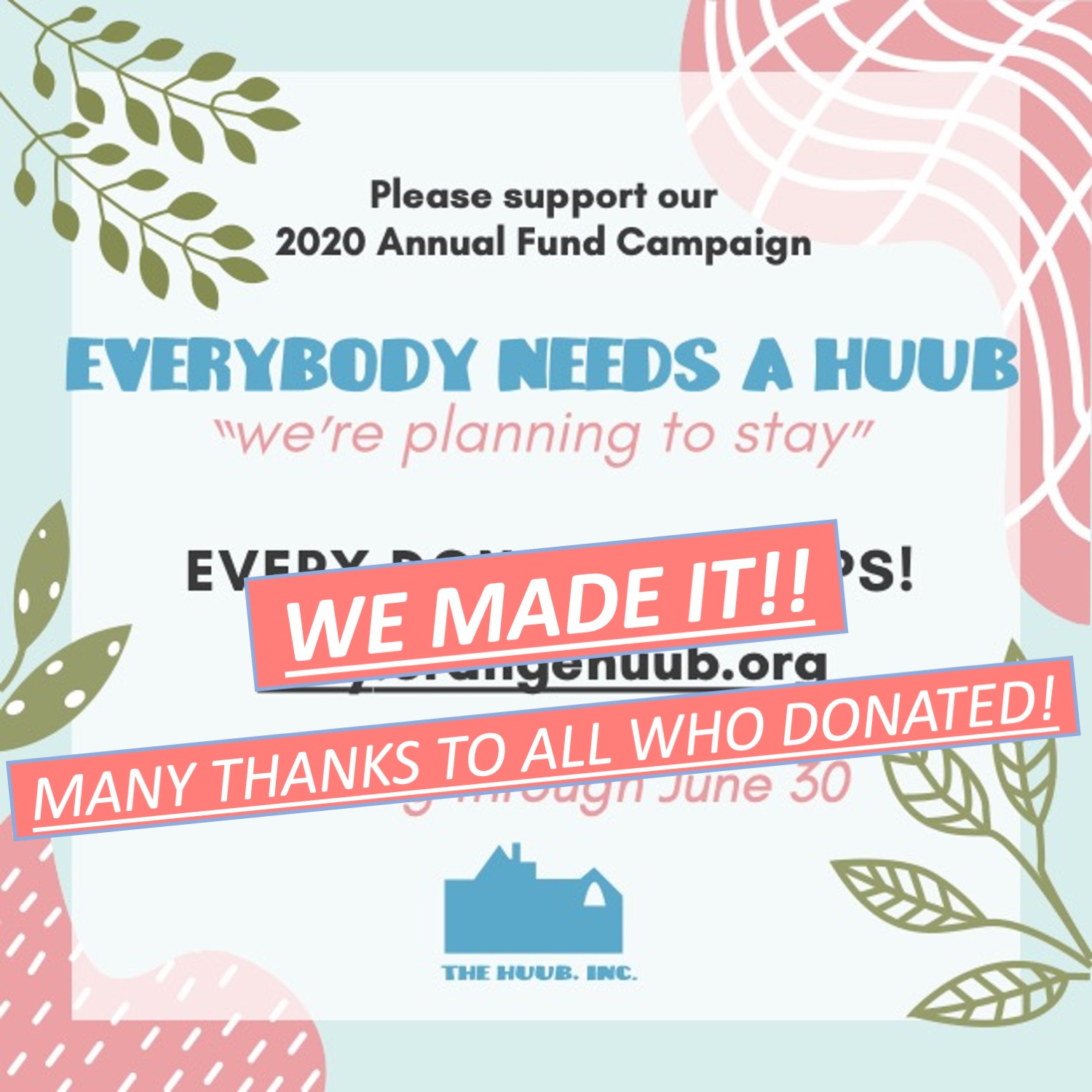Support The HUUB!